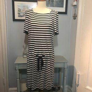 NWT Diane von Furstenberg Amal Striped Dress